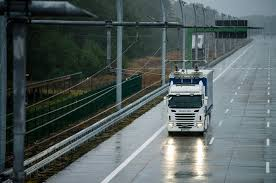 real life tests of electrically powered trucks scania group