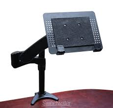 Desk Mount Laptop Stand Cool Tool Gator G Arm 360 Insync Sweetwater