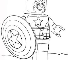 captain america coloring pages coloring pages