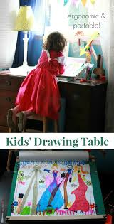 Portable Lap Desk Kids by A Slanted Kids Drawing Table Ergonomic And Portable Artful Parent
