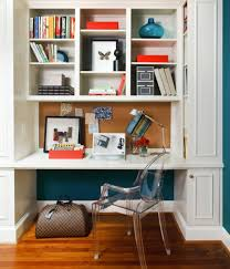 Small Home Office Space BuiltIn Office Nook Great For An - Small home office space design ideas