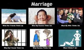 What People Think Meme - marriage what people think meme