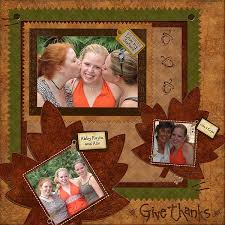 20 best autumn scrapbook layouts images on cards