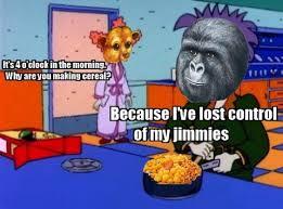 Gorilla Munch Meme - my response to evirokids changing the gorilla munch cereal box