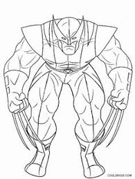 comic book coloring pages printable wolverine coloring pages for kids cool2bkids comic