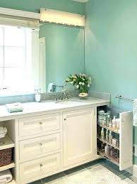 Open Bathroom Shelves Bathroom Vanity Shelving Bathroom Vanity With Shelf Open Shelf