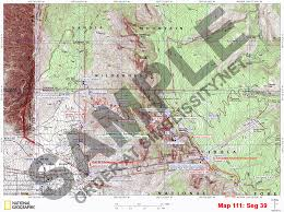 Fedex Route Map by Grand Enchantment Trail Topo Map Set