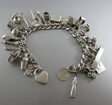 charm bracelet vintage silver images Make the perfect style with silver charm bracelets bingefashion jpg