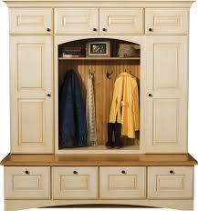 antique white storage cabinet locker cabinets mudroom storage dura supreme cabinetry