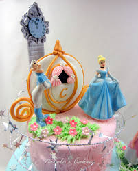 cinderella birthday cake on birthday cakes