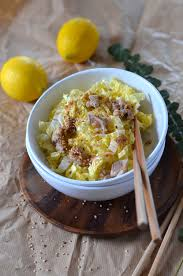 cuisine chou chinois salade de chou chinois au poulet et sésame recette tangerine zest