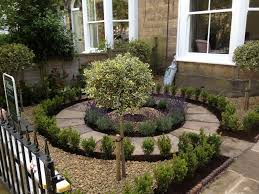 the central path was cut from yorkshire stone and laid in a petal