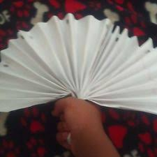 paper fan how to make paper fans with pictures wikihow