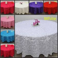 Patio Tablecloth by Blush Pink 3d Rose Flowers Table Cloth For Wedding Party
