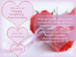 Wedding Anniversary Wishes For Husband Graceful Happy Anniversary Greeting Cards For Your Husband