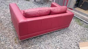 canapé cuir 2 places ikea canapé 2 places cuir ikea annonce meubles et décoration