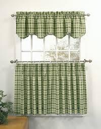 green kitchen curtains home design styles