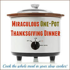one pot thanksgiving dinner recipe for your easiest yet