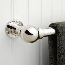 art deco towel bar bathroom towel