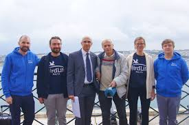 together against air pollution from ships birdlife malta