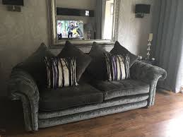 Pillow Back Sofas by Dfs Loch Leven Grand Pillow Back Sofa In Grey 975 Or Best Offer