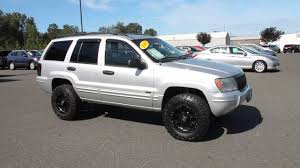 jeep grand cherokee factory wheels 2004 jeep grand cherokee silver stock b3044a walk around