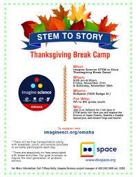 stem to story thanksgiving cs imagine science