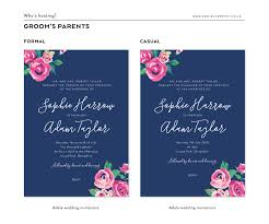 wedding invitation format how to word your wedding invitations project pretty