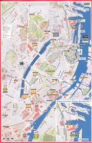 map of copenhagen copenhagen major stops map copenhagen mappery