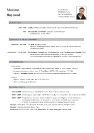 curriculum vitae templates pdf cv francais cv francais exemple cv francais exle cv francais