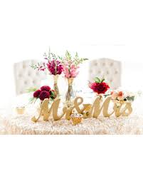 Mr And Mrs Sign For Wedding Amazing Deal Gold Mr And Mrs Sign Wedding Sweetheart Table Decor