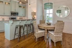 Coastal Kitchens - turquoise cabinets cottage kitchen pat o u0027neal interiors