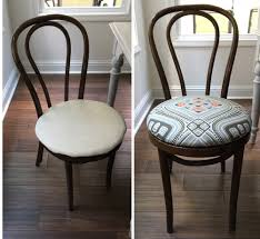 no sew dining chair upholstery tutorial learn how to re