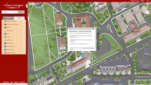 Colorado College Campus Map by Catholic U Of America Looking For A Single Campus Map Solution