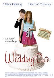 wedding date an alternate poster for the wedding date hallmark