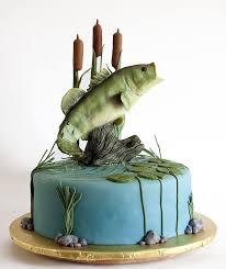 bass fish cake rustic grooms cake rustic groom cake and bass fish cake