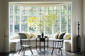 bay window ideas elegant how to solve the curtain problem when