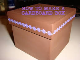 where can i buy boxes for gifts how to make a cardboard box from recycled cardboard 5 steps