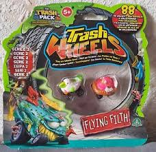trash pack trash wheels series 2 2 pack flying filth
