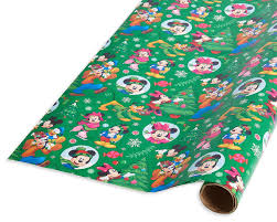 power rangers wrapping paper christmas wrapping paper mickey mouse and friends 20 total sq