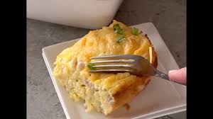sausage u0026 cheese hash brown breakfast casserole youtube