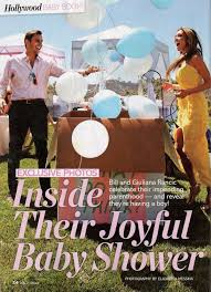 balloons in a box gender reveal giuliana and bill rancic s pink and blue baby shower inspired by