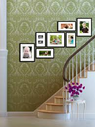 lovely what to do with lovely stairway display of family photographs for the home