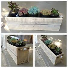 planter u0027s box made from pallet wood made by yours truly do