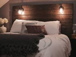 best 25 rustic wood headboard ideas on pinterest rustic
