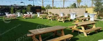 picnic table rental party rental scottsdale mesa chandler valleywide service