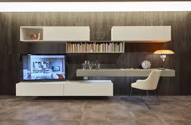 Italienische Wohnzimmer Modern Moderne Tv Wand Aus Italien Mit Hängenden Lowboard Und