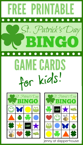 s day bingo free kids for st s day printable bingo cards