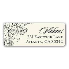 black border on return address labels paperstyle