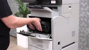 ricoh customer support how to change toner youtube